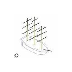 RB MODEL Mast Set Pogoria