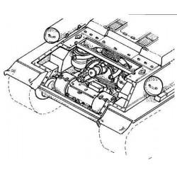 CMK T-34 - transmission set
