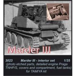 CMK Marder III - engine set...