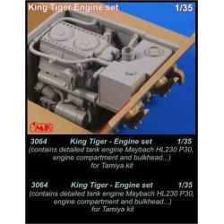 CMK King Tiger - engine set