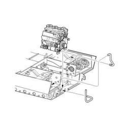 CMK Tiger I - engine set