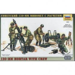 ZVEZDA 120MM Mortar with Crew