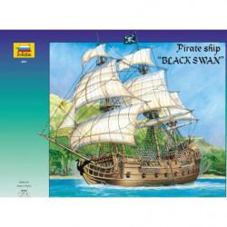 ZVEZDA PIRATE SHIP BLACK SWAN