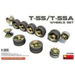 MINIART T-55/T-55A Wheels Set