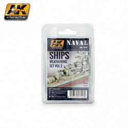 AK NAVAL Ships Weathering...