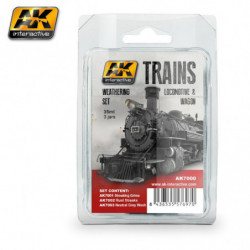 AK TRAINS Locomotive & Wagon