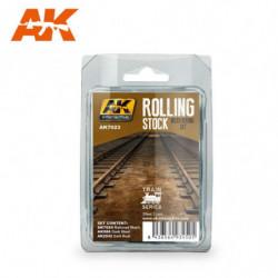 AK TRAINS Rolling Stock...