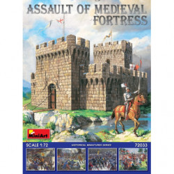 MINIART ASSAULT OF MEDIEVAL...