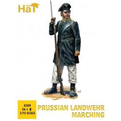 HAT Prussian Landwehr Marching