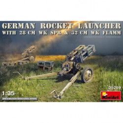 MINIART German Rocket Launcher