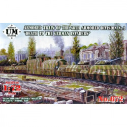 UNIMODELS Armored train of...