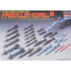 HASEGAWA Aircraft Weapons D