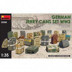 MINIART GERMAN JERRY CANS...