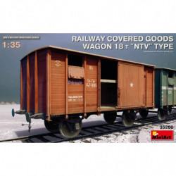 MINIART RAILWAY COVERED...