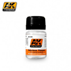 AK Odorless Thinner 35ml