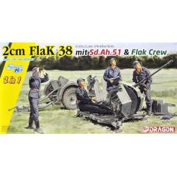 DRAGON 2cm FlaK 38 EARLY/LATE