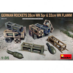 MINIART German Rockets 28cm...