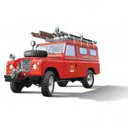 ITALERI LAND ROVER FIRE TRUCK
