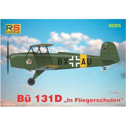 RS MODELS Bücker Bü-131D
