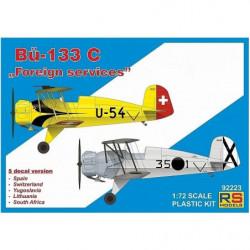 RS MODELS Bücker Bü-133C...