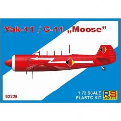 RS MODELS Yak-11/C-11 'Moose'