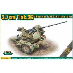 ACE Flak.36  3.7cm. AA gun...