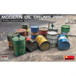 MINIART Modern Oil Drums...