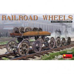 MINIART Railroad Wheels