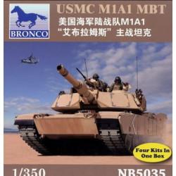 BRONCO USMC M1A1 MBT 4db