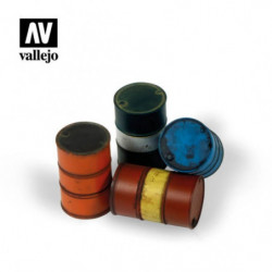 VALLEJO Modern Fuel Drums