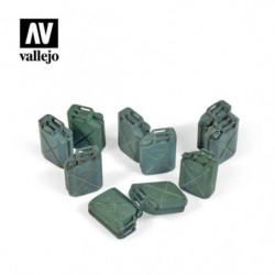 VALLEJO Allied Jerrycan set