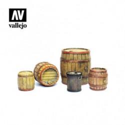 VALLEJO Wooden Barrels