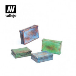 VALLEJO Metal Suitcases
