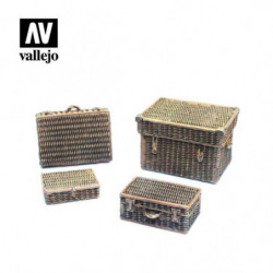 VALLEJO Wicker Suitcases