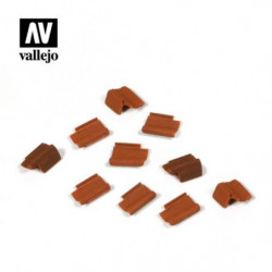 VALLEJO Roof Tiles set