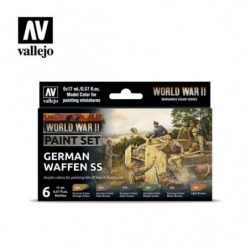 VALLEJO MODEL COLOR WWII...