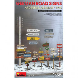 MINIART German Road Signs...