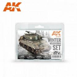 AK WINTER WEATHERING SET