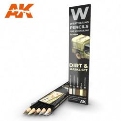 AK PENCIL Dirt & Marks Set