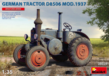MINIART German Tractor...