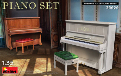MINIART Piano Set