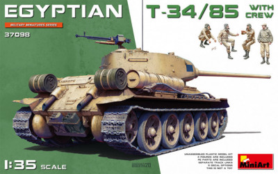 MINIART Egyptian T-34/85...
