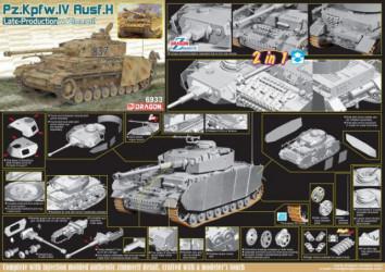 DRAGON Pz.Kpfw.IV Ausf.H...