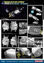 DRAGON Apollo 13 CSM & LM...