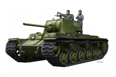 TRUMPETER KV-1 1942 w/Crew