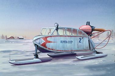 TRUMPETER Soviet NKL-6 Aerosan