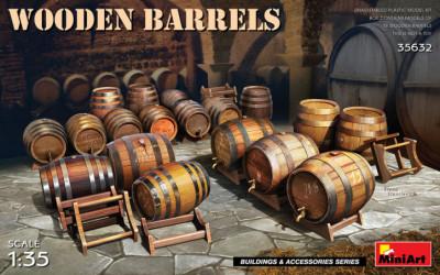 MINIART Wooden Barrels