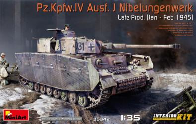 MINIART Pz.Kpfw.IV Ausf. J...