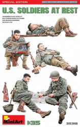 MINIART U.S. Soldiers at Rest