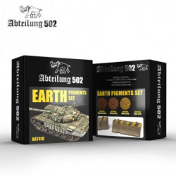 ABTEILUNG 502 PIGMENTS Earth